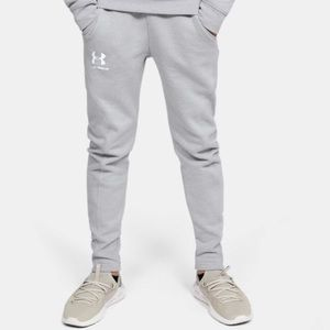 Under Armour UA Rival Joggers Gray Y M 10/12